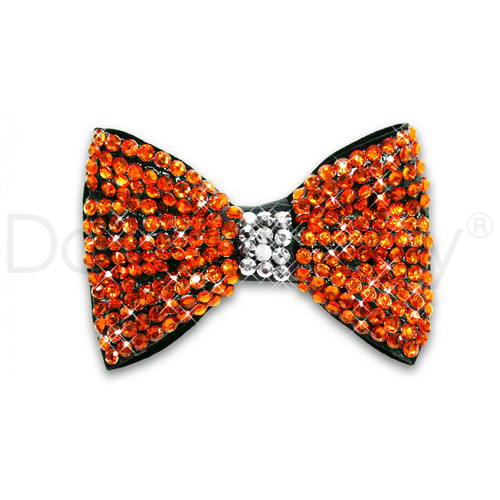 DAZZLING JAZZY BOW-GOLD YELLOW
