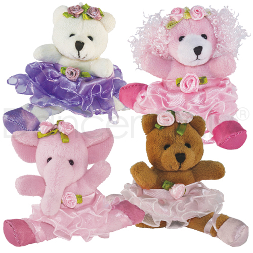 BALLERINA BUDDIES - 24 PIECE ASSORTMENT #1