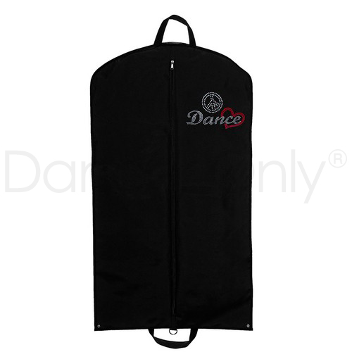 PEACE, LOVE & DANCE GARMENT BAG