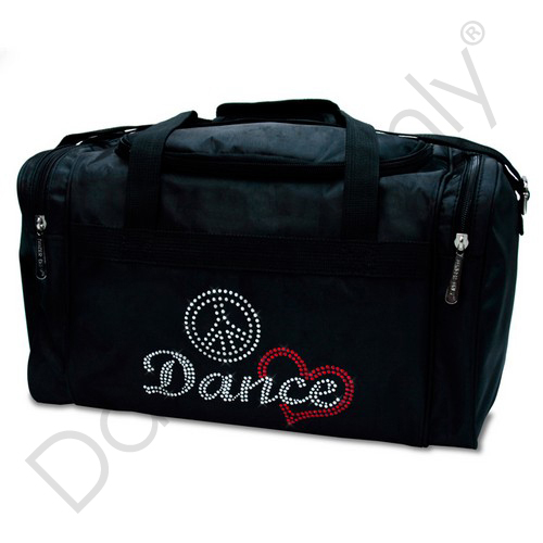 PEACE, LOVE & DANCE JR. PRO-DANCE BAG